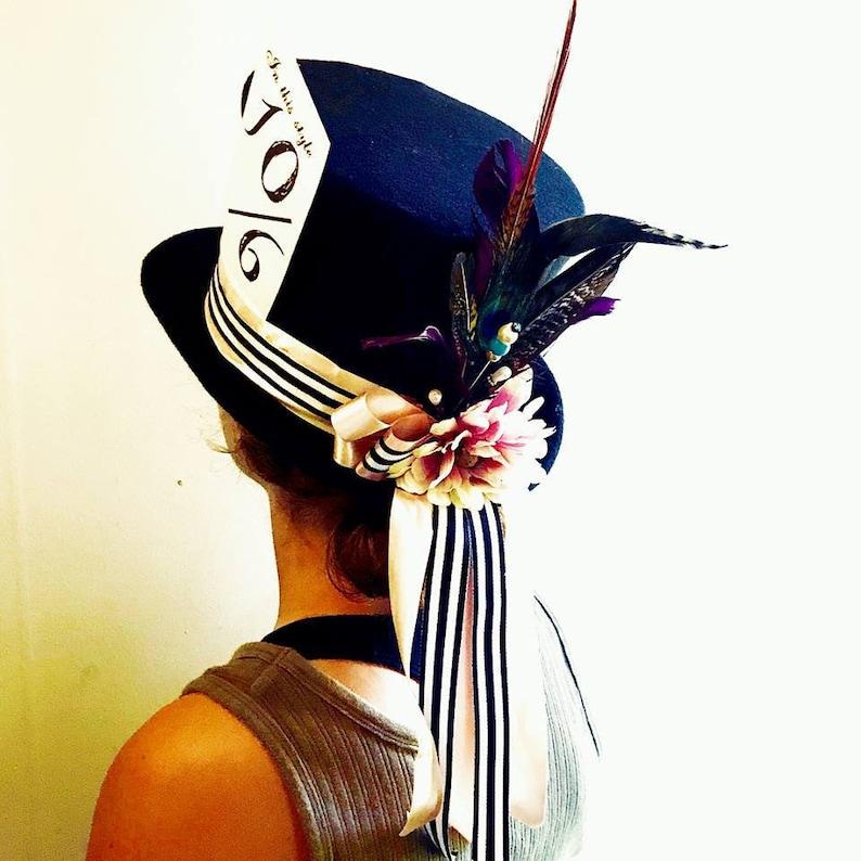 Mad hatter hat Alice in Wonderland  top hat image 0