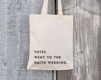Wedding Welcome Canvas Tote Best Day Ever Canvas Tote Bags Wedding Favor Tote Bags