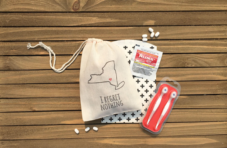 New York Bachelorette Party Bachelorette Party Favor Bag | Etsy