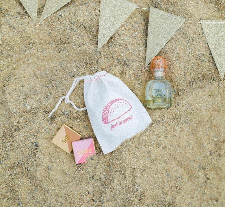 Fiesta Wedding Welcome Bag Taco Wedding Favors Just In Etsy