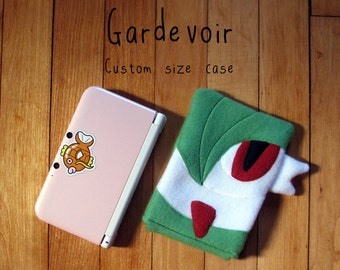 JULY PREORDER 3ds XL Case / Custom Size Pokemon Gardevoir pouch carrying case new 3ds / 3ds xl / nintendo switch / psp vita holder cozy