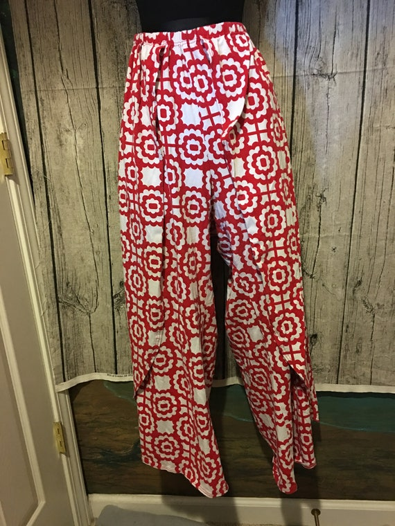Wrap Pants - Easy with Elastic Waist (Custom Made)