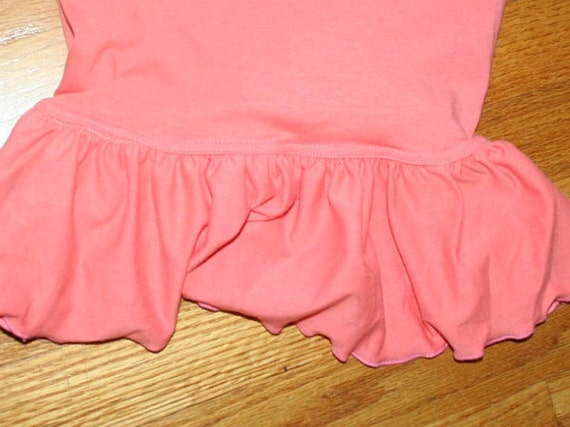 Women's Ruffle Pants - Plus Sized Capri One Ruffle Pants - Mama Ruffles -Elastic waist - Solid colors