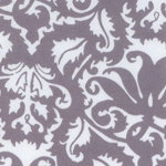 White/Gray Pattern Cotton Lycra (Sold by the Yard)