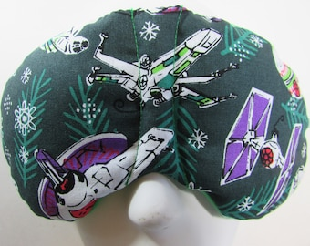 Herbal Hot/Cold Therapy Sleep Mask with adjustable and removable strap Star Wars Christmas Ornaments