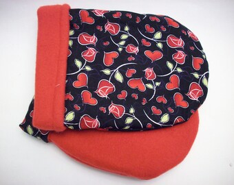 Hot Therapy Spa Mitten Set Roses and Hearts