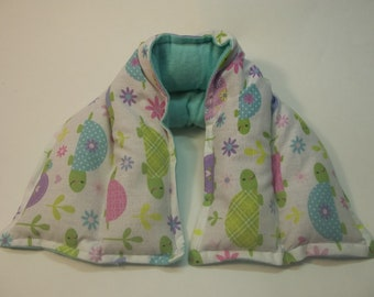 Hot/ Cold Herbal Therapy Neck, Knee and Ankle Wrap Cute Turtles