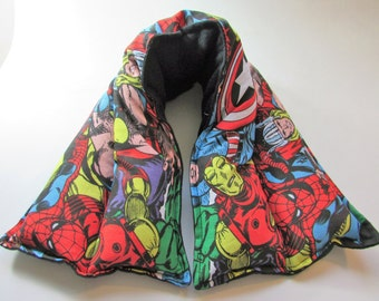Hot/ Cold Herbal Therapy Neck, Knee and Ankle Wrap Marvel Heroes
