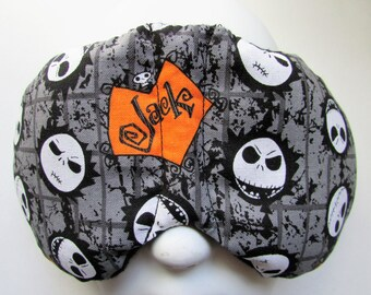 Herbal Hot/Cold Therapy Sleep Mask with adjustable and removable strap Nightmare Before Christmas Jack