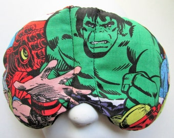 Herbal Hot/Cold Therapy Sleep Mask with adjustable and removable strap Marvel Heroes