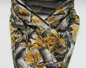 LONG Hot/Cold Therapy Neck Wrap Tree Camo