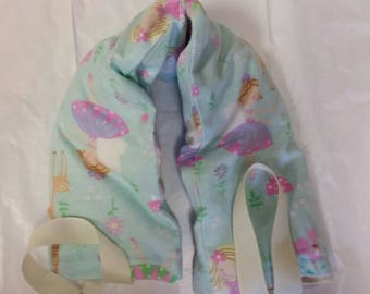 Hot/Cold Therapy Neck Wrap with straps and washable cover Fairies