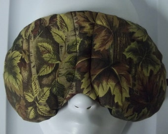Herbal Hot/Cold Therapy Sleep Mask with adjustable and removable strap Camo Mossy Oak