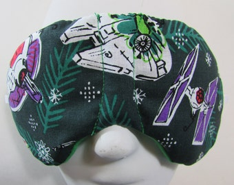 Herbal Hot/Cold Therapy Child Size Sleep Mask with adjustable and removable strap Star Wars Christmas Ornaments