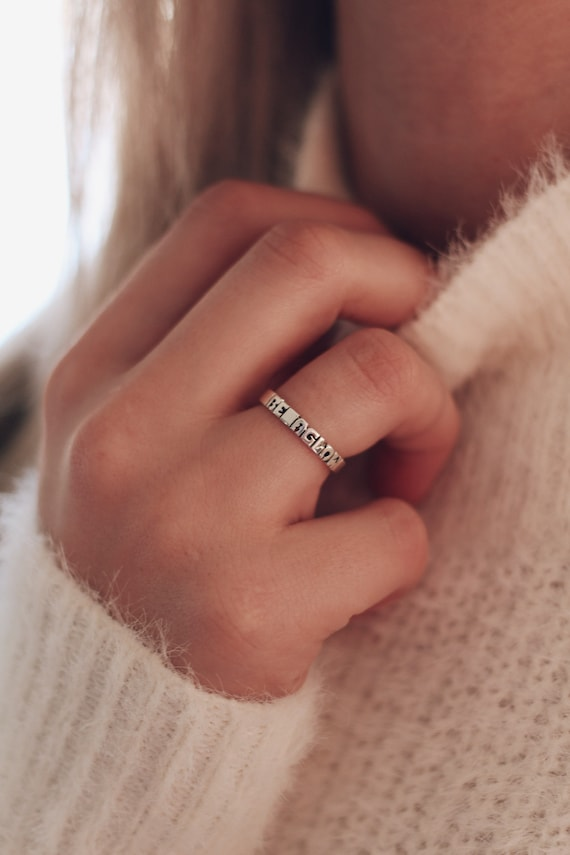the sedona // custom name ring