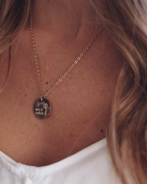 the OONA // wild child // coin necklace
