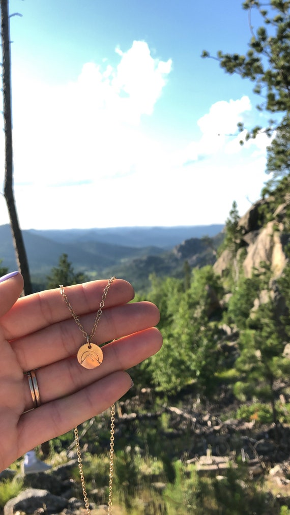 the Black Hills // Yellow Gold or Sterling Silver