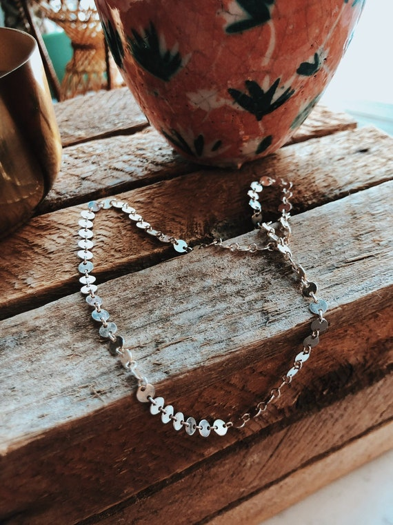 The Dotties - Silver Choker & Bracelet Set