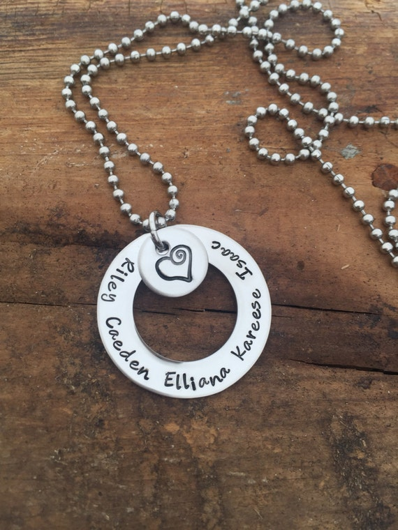 Mother's necklace / family / grandma keepsake / gift for mom