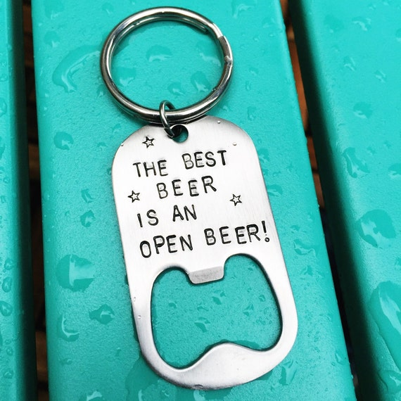 Custom Keychain, bottle opener, personalized, great for a gift!
