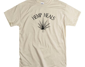 Hemp Heals Unisex fit Tee CBD Oil Pain Anxiety Hempworx Seller Cannabis Oil one Drop at a time Changing lives Heals Cannabidiol