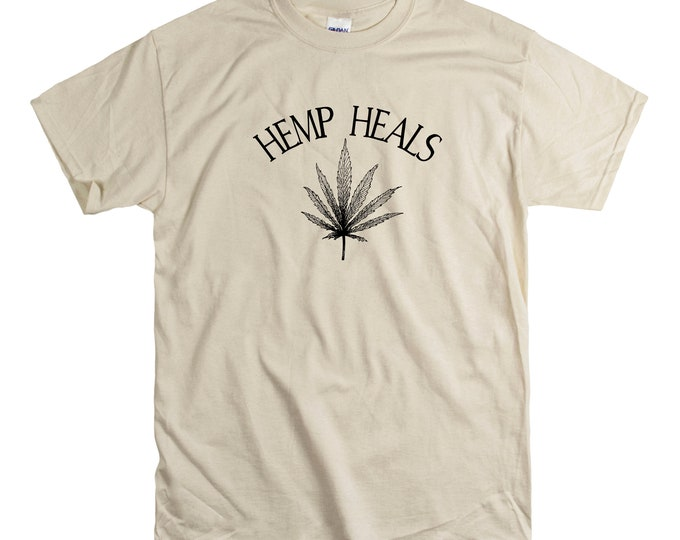 Hemp Heals Unisex fit Tee CBD Oil Pain Anxiety Hempworx Seller Cannabis Oil one Drop at a time Changing lives Heals Cannabidiol