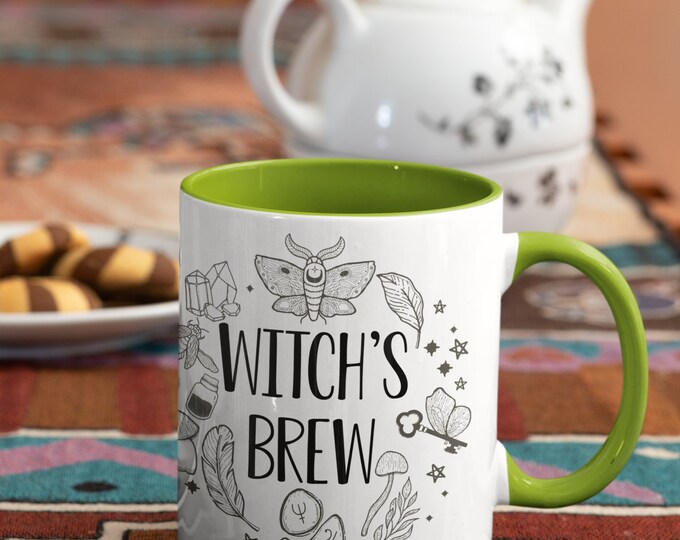 Witch's brew Mug Potion Mug Poison Mug Halloween Mug Spell Casting Elixer