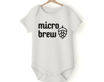 Micro brew Onesie various sizes GerberGift Baby Girl Boy Unisex Shower Neutral