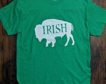 T Shirt Buffalo Irish New York WNY Erie Niagara Gift shirt UNISEX T shirt Men's T Shirt Father's Shirt south Buffalo