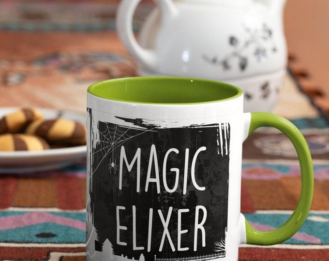 Magic Elixer Mug Potion Mug Poison Mug Halloween Mug Spell Casting Elixer