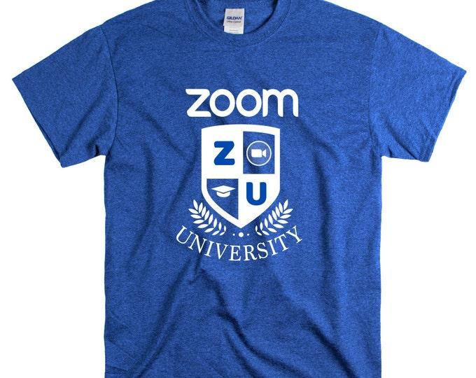 Zoom University T shirt Distance learning Graduate college university 2020 Quarantine Graduates