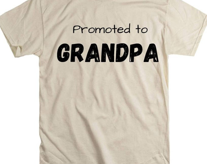 Grandpa promoted man myth wallet legend shirt gift step father adopted grandfather grandpap