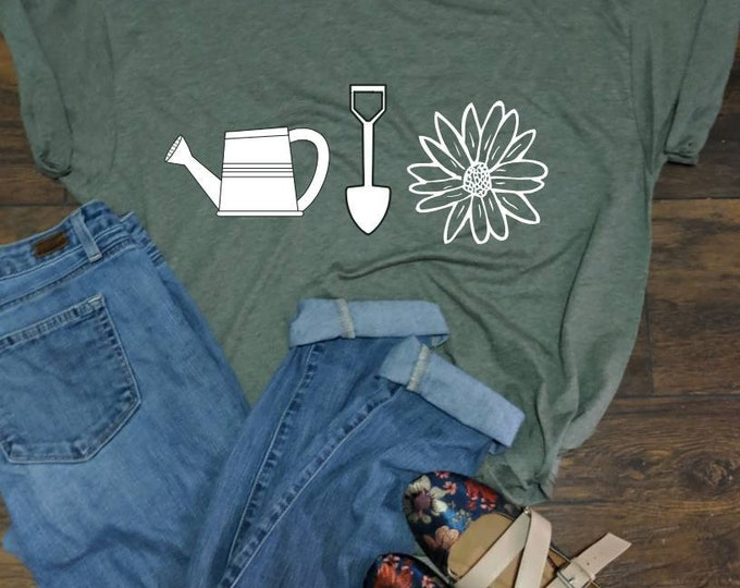 Gardening Shirt Unisex fit Tee crazy plant lady in my office summer