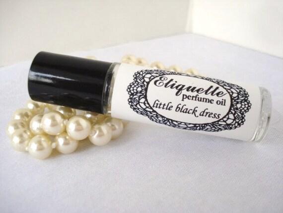 Little Black Dress Perfume Oil 10 Ml Roll On Fragrance Etsy
