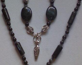 Blue Labradorite Necklace