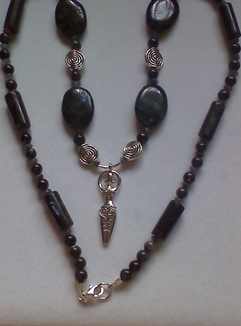 Blue Labradorite Necklace image 0