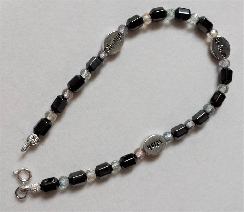 Magnetic Hematite Anklet image 0