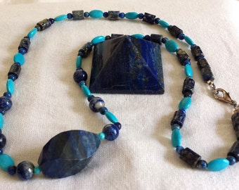 Lapis and Turquoise Storm