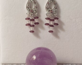 Amethyst Drops and Frosts