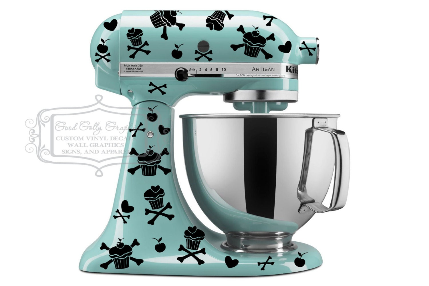 Kitchenaid Mixer Decal Set ✓ Bahuma Sticker