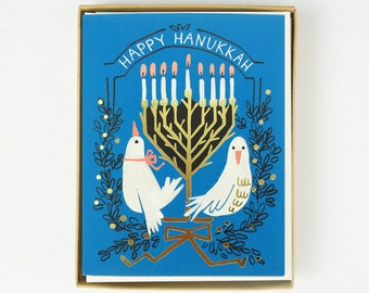 Happy Hanukkah 8pcs
