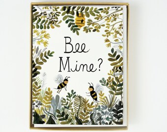 Bee Mine 8pcs Boxed Set