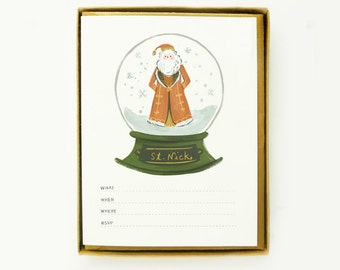 St Nick Invitations 8pcs