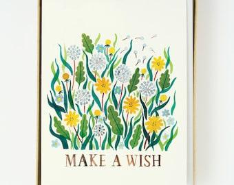 Dandelion Make a Wish 8pcs