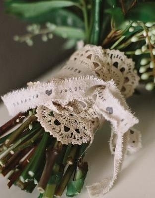Personnalisé de - ruban rustique - de coeur ruban, ruban de pays, bouquet ruban, ruban pour mariage baguettes magiques, faveur du ruban, ruban 34d073