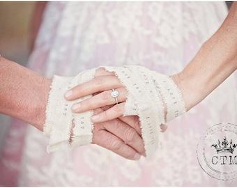Personalized Handfasting Cords, handbinding ceremony, hand wrap wedding cord, handfasting wedding, handbinding wedding