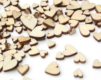 100 Tiny hearts, love hearts, wedding table decor, little hearts, country wedding decorations, miniature hearts, small hearts, mini hearts