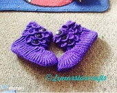 Crochet crocodile slippers