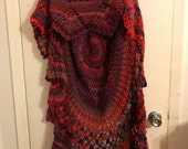Crochet Bohemian vest
