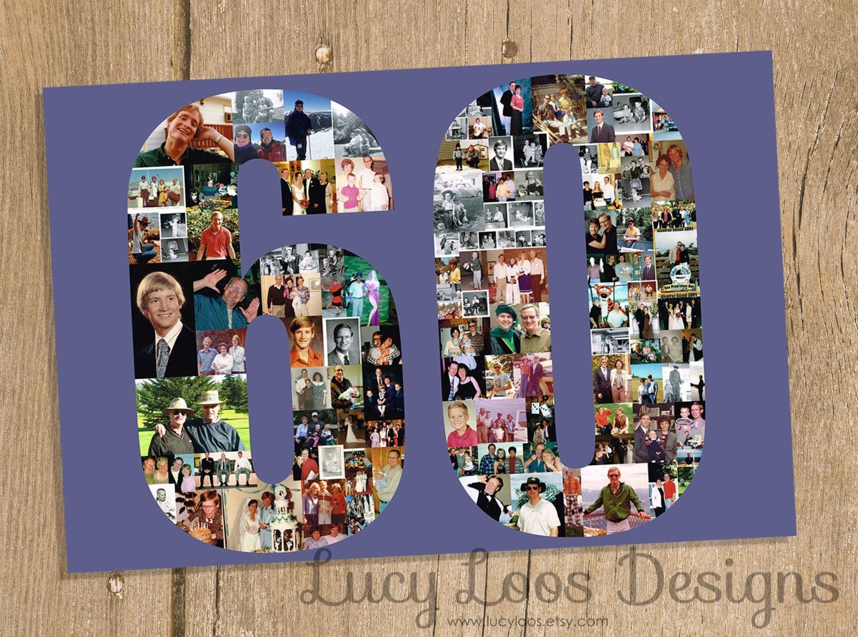 Meilenstein-Geburtstag-collage | Etsy